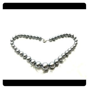 Jewelry - ⚜️ Silver/Blue pearl necklace ⚜️